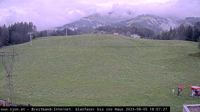 St Johann in Tyrol webcam - bottom ski station Eichenhof
